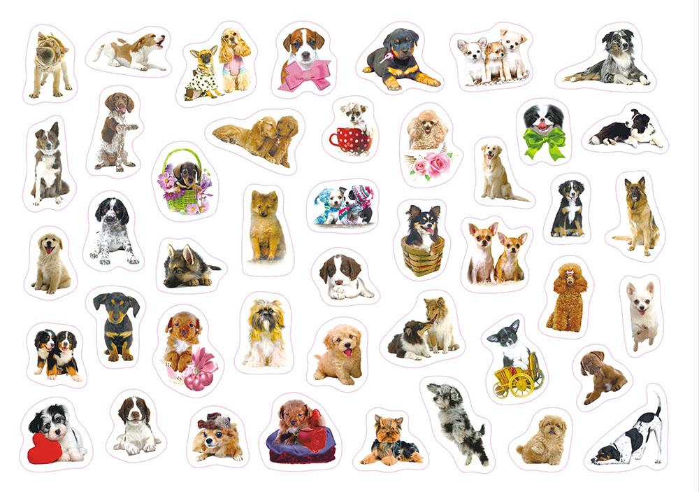 картинки для распечатки собаки цветные тэгом